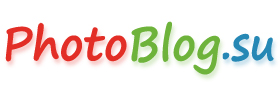 ФотоБлог - интересная фотография. PhotoBlog.su. Логотип